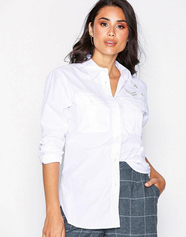 Lauren Ralph Lauren Courtenay-Long Sleeve-Shirt