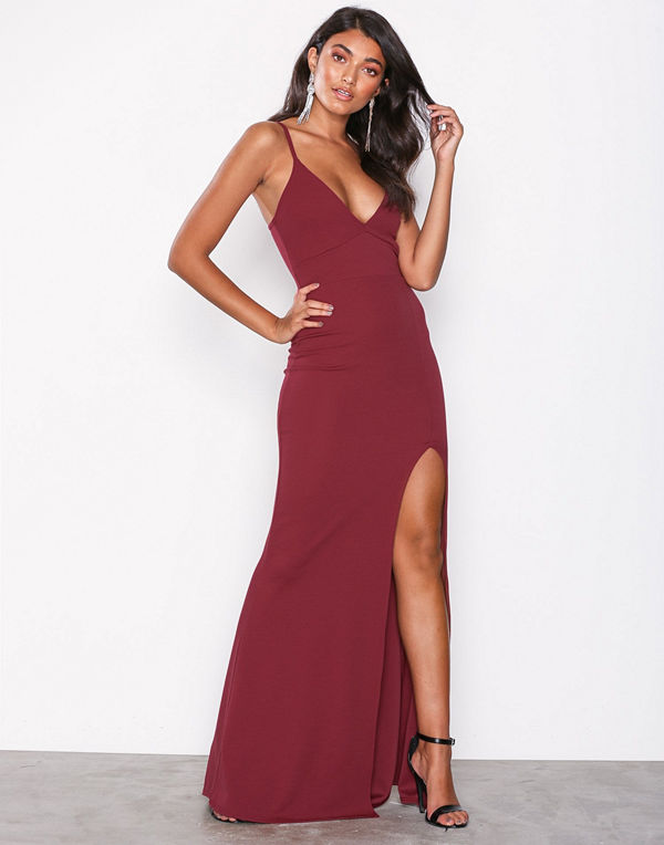 Missguided Scuba Maxi Dress