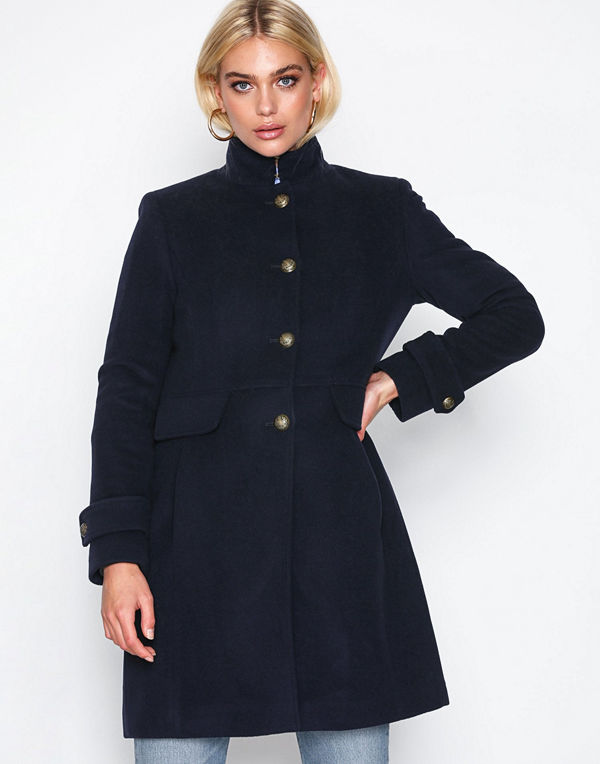 Lauren Ralph Lauren Sb Mlt Wl Fl-Coat