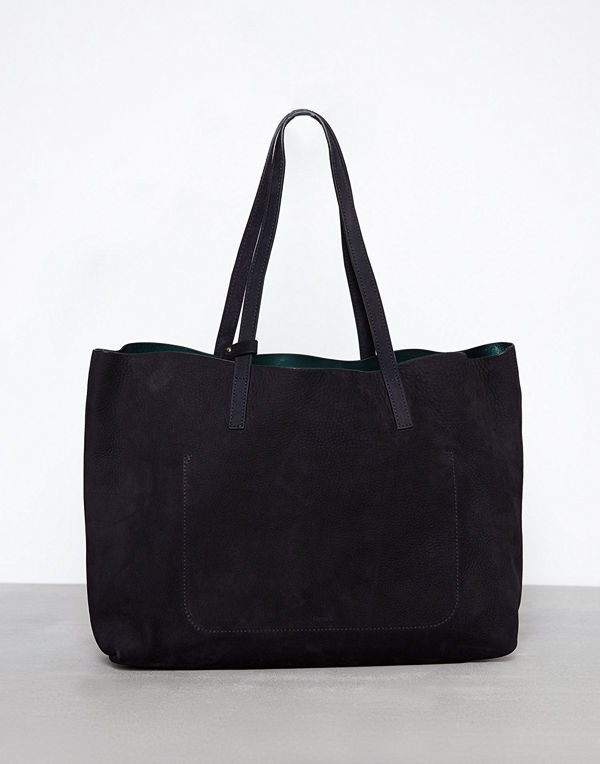Filippa K Faye Tote Leather Bag Svart