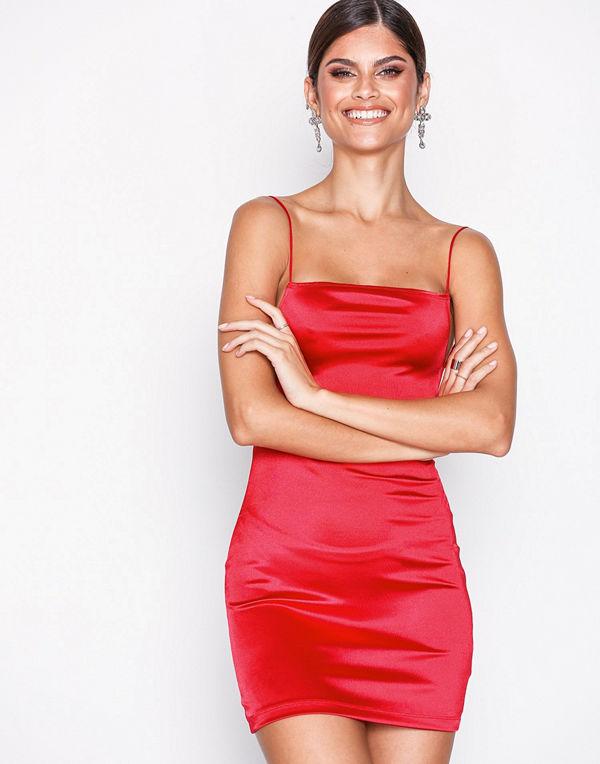 Motel Kozue Dress Red