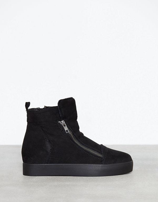 Duffy Wedge Zip Sneaker