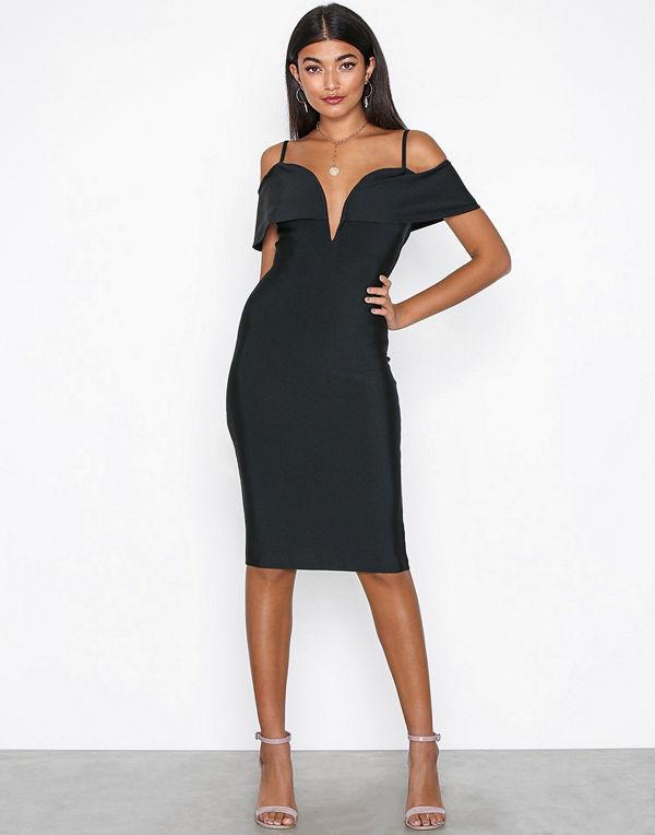 Missguided Rib Binding Detail Dress