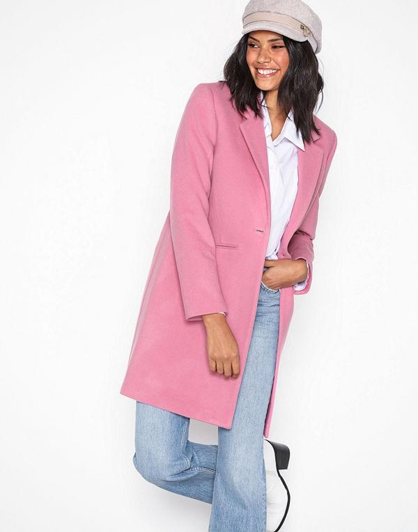 Gant G2. Classic Tailored Coat Pink