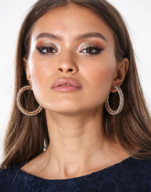 Glamorous örhängen Multipack Hoop Earrings