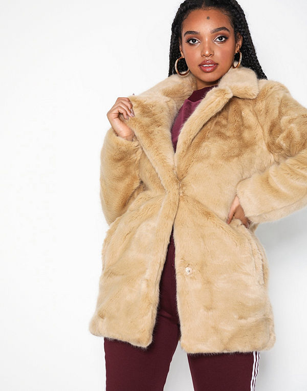 Only onlMILANA Faux Fur Coat Otw