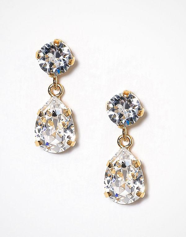 Caroline Svedbom örhängen Mini Drop Earring Crystal