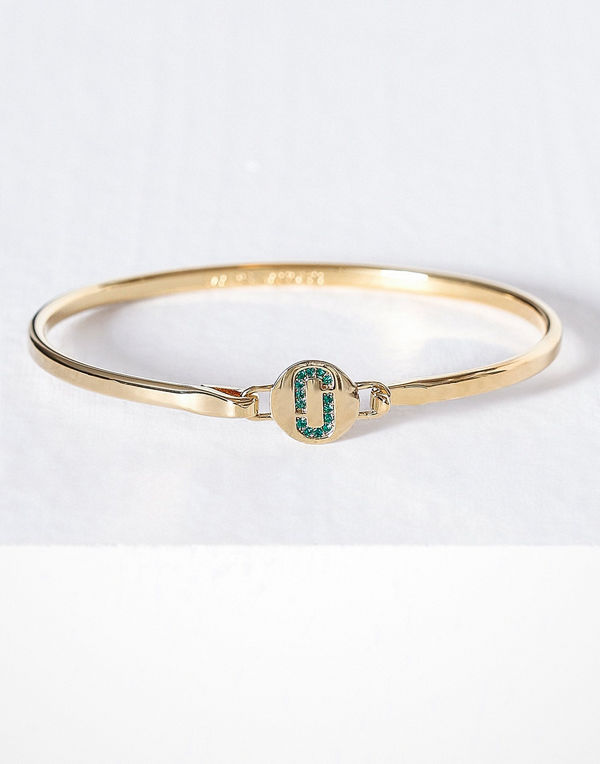 Marc Jacobs armband Hinge Cuff Emerald