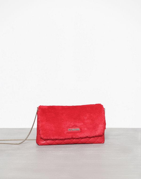 Love Moschino röd axelväska JC4300PP06KP1