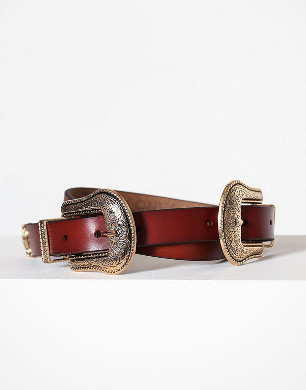 Only onlANNLISE Leather Double Belt Acc