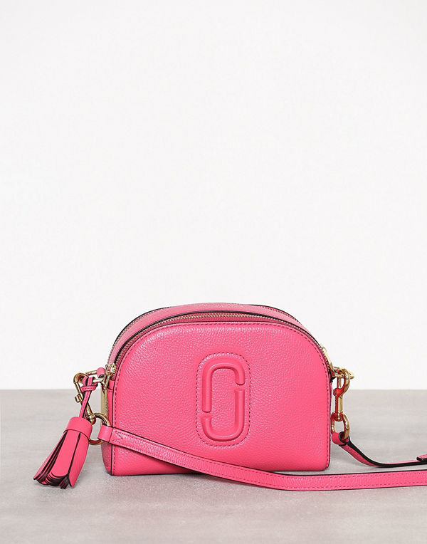 Marc Jacobs rosa axelväska Shutter Peony