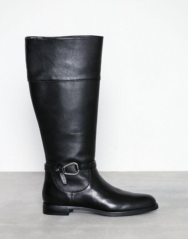 Lauren Ralph Lauren Harlee Boots Svart