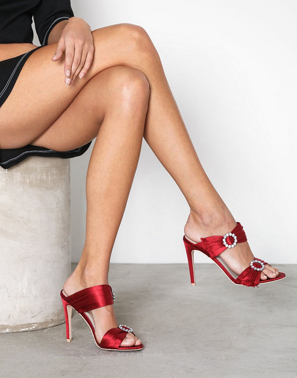 NLY Shoes Diamond Heel Sandal
