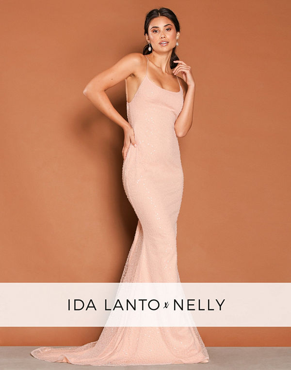 NLY Eve Corali Dress Light Pink