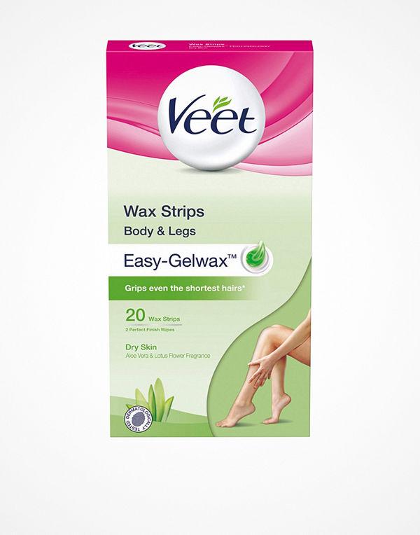 Veet Cold Wax Strips Torr Hud 20st