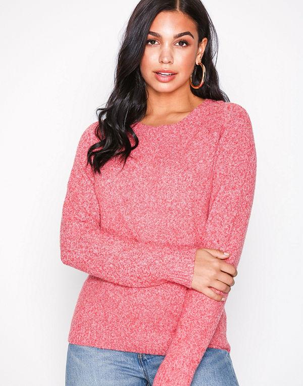 Vero Moda Vmdoffy Ls O-Neck Blouse Color Rosa