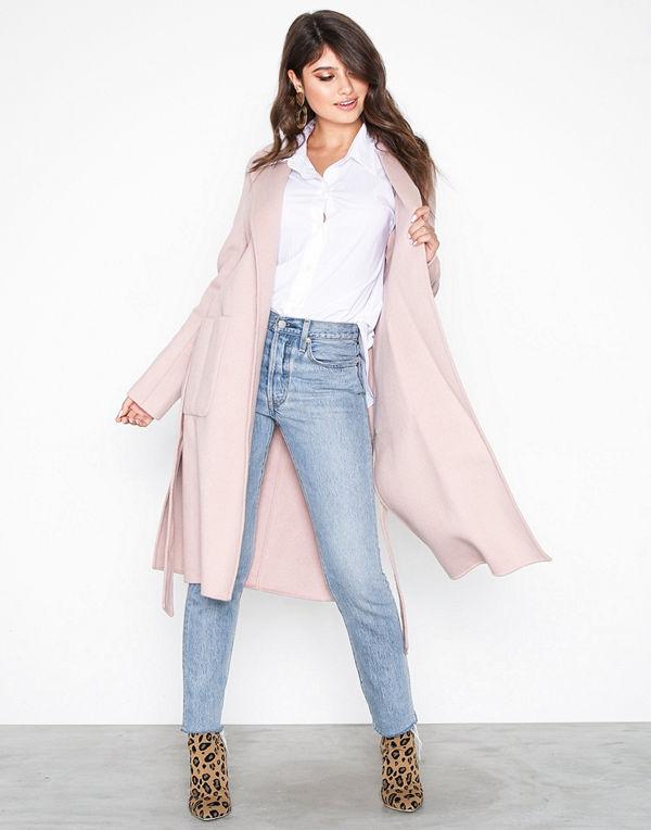 MICHAEL Michael Kors Db Wool Belted Coat