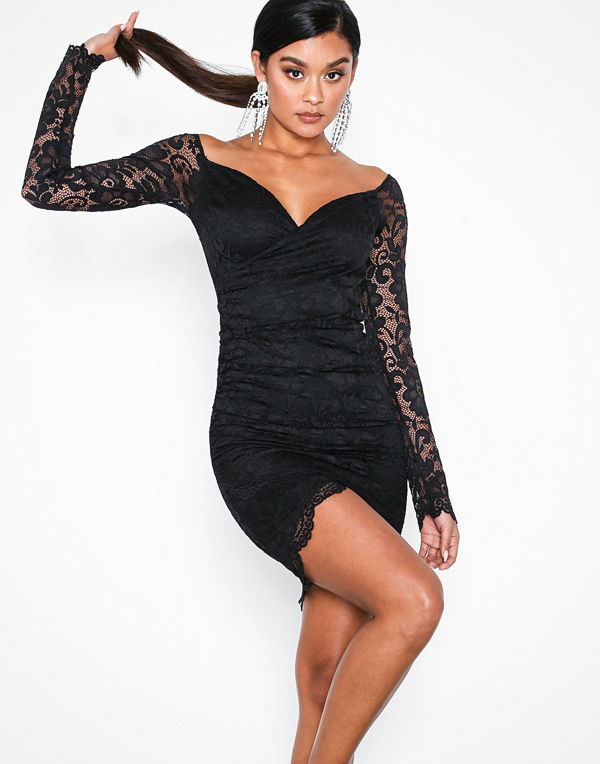 NLY One Wrap Lace Dress