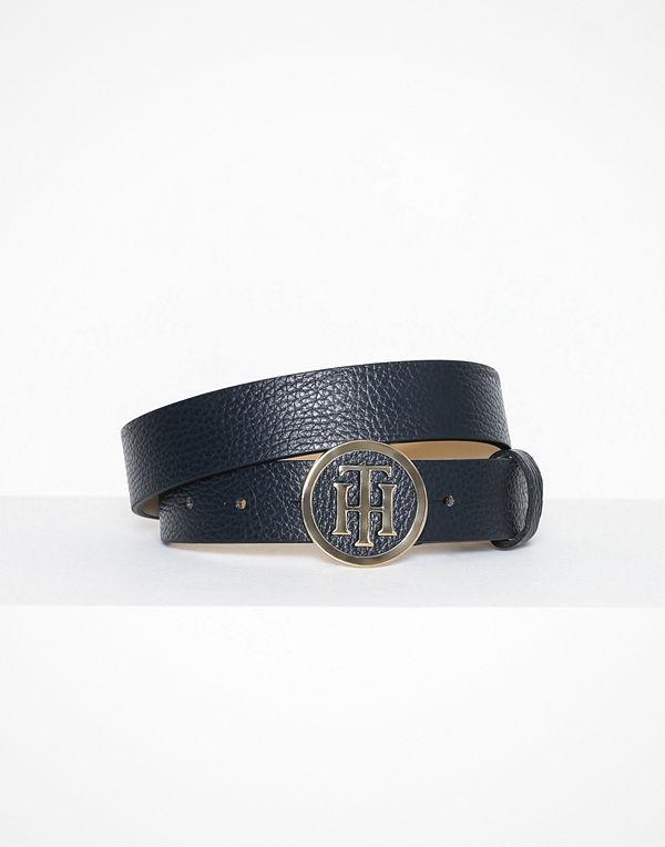 Tommy Hilfiger Th Round Belt 3.0 Navy