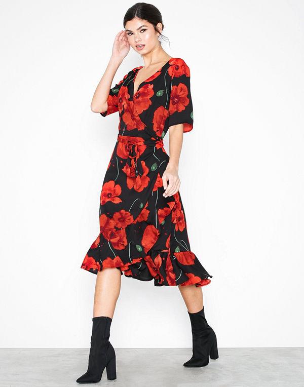 Jacqueline de Yong Jdyindie 2/4 Wrap Dress Wvn