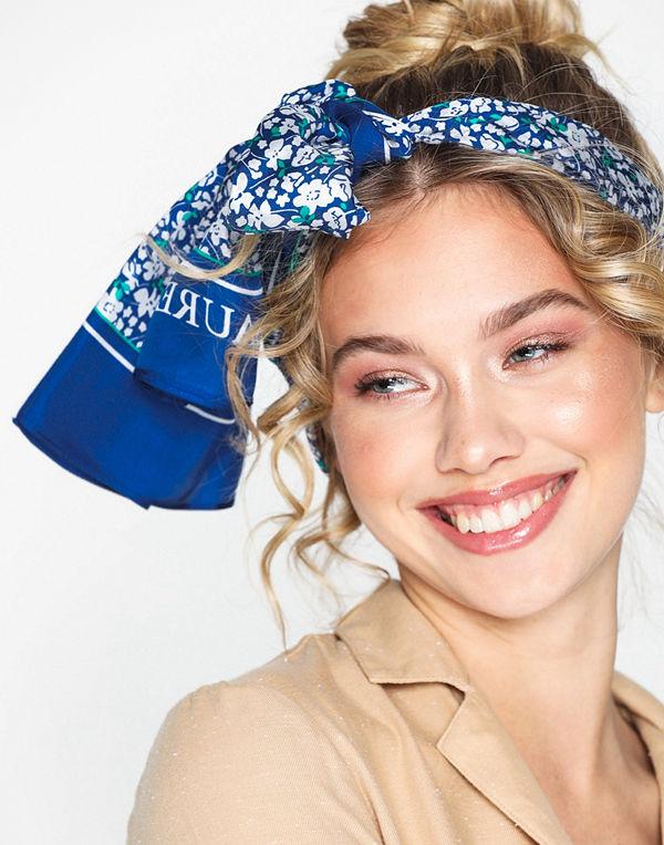 Lauren Ralph Lauren Teresa-Oblong Scarf-Silk