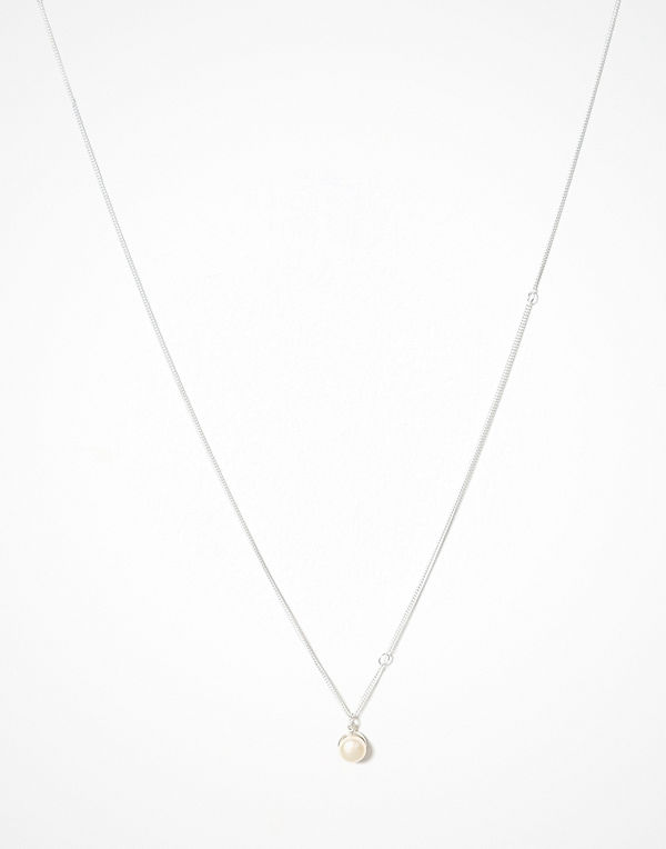 Cornelia Webb halsband Pearled Single Necklace Silver