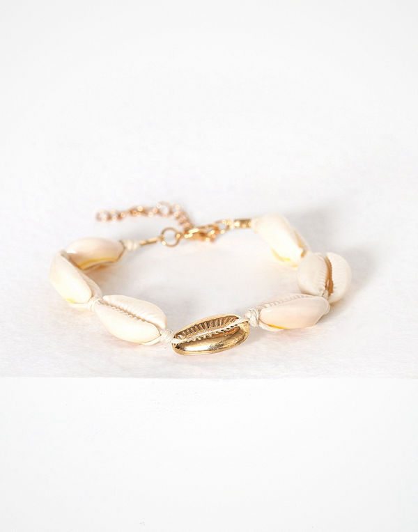 NLY Accessories armband Seashell Bracelet