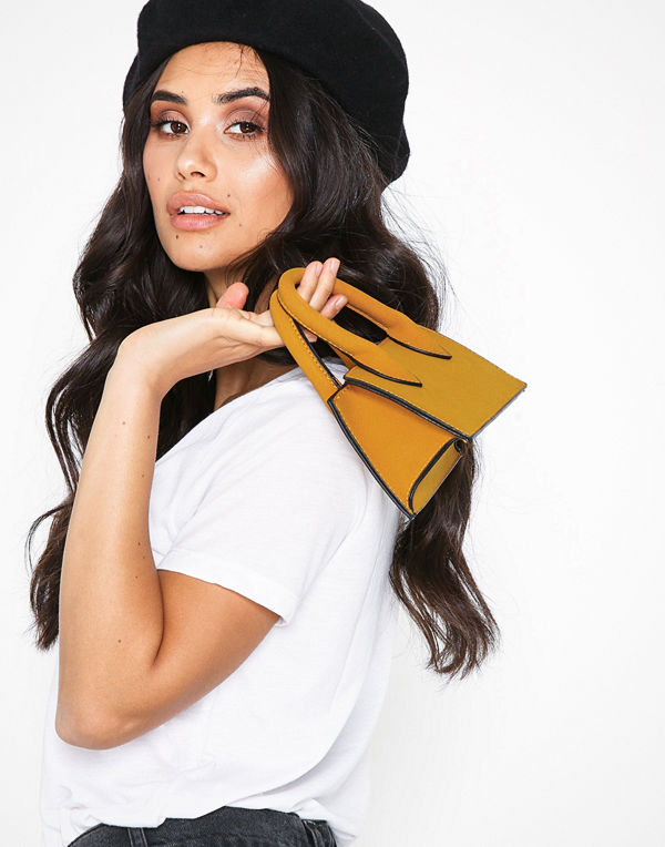 NLY Accessories Barely There Mini Bag Mustard