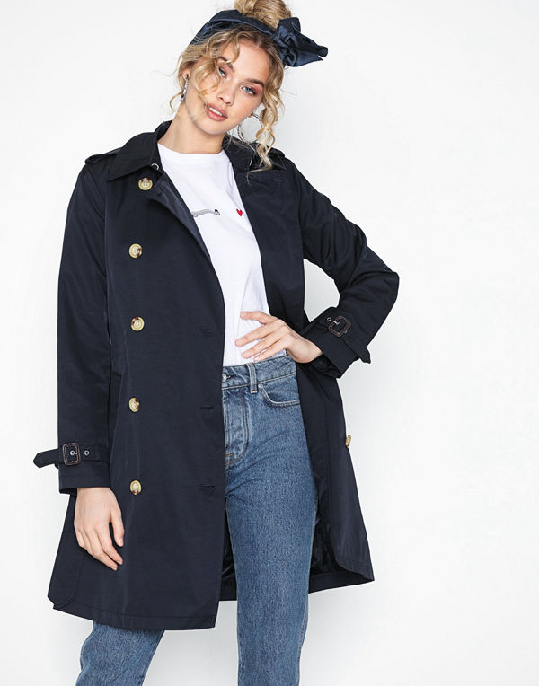 Lauren Ralph Lauren Trench Pkt-Cotton-Coat