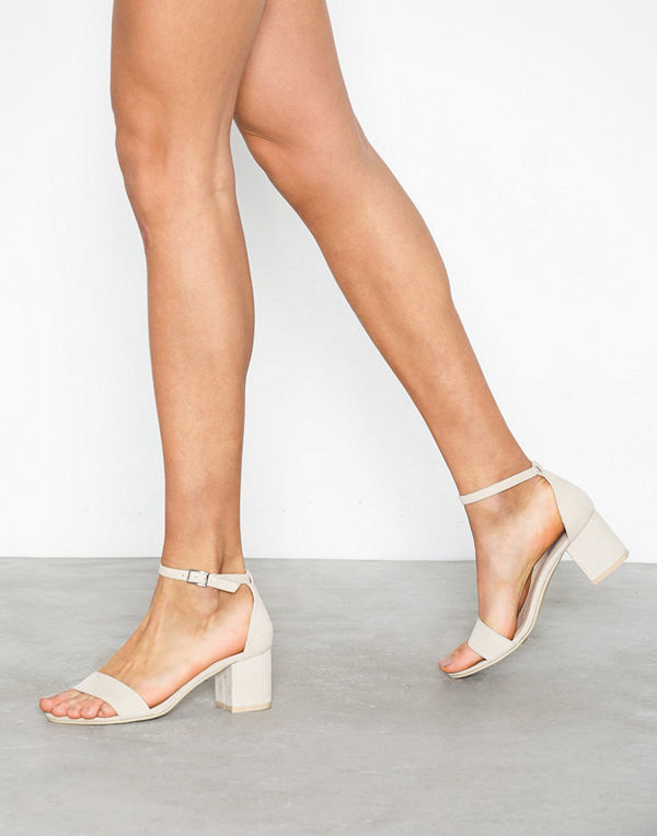 NLY Shoes Low Block Heel Sandal