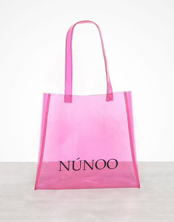 NuNoo Small Tote Transparent Rosa