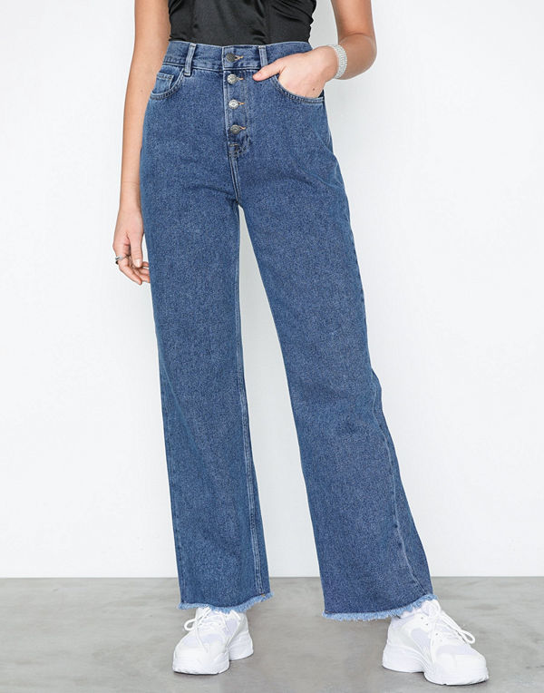 NLY Trend Front Button Denim