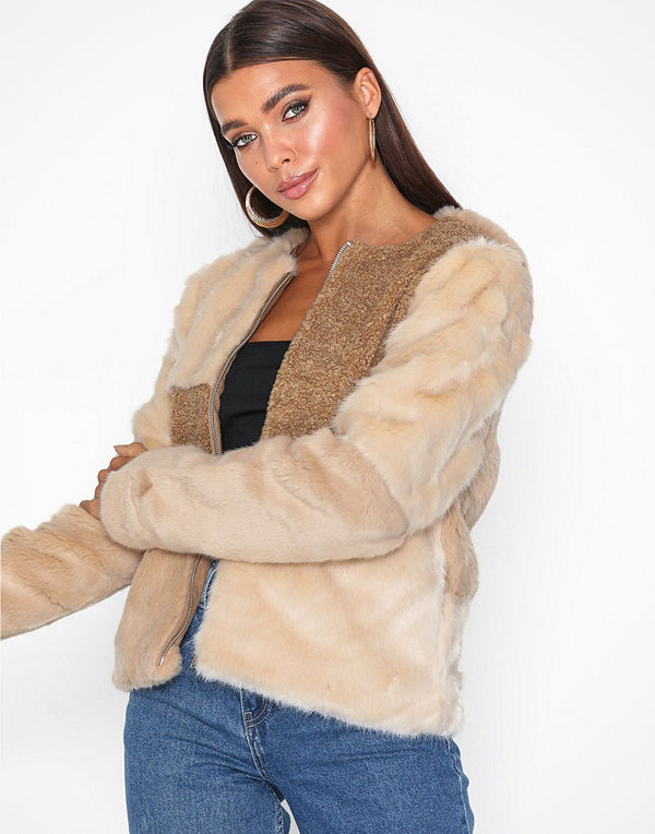 Only onlALEXIS Mix Faux Fur Jacket Otw