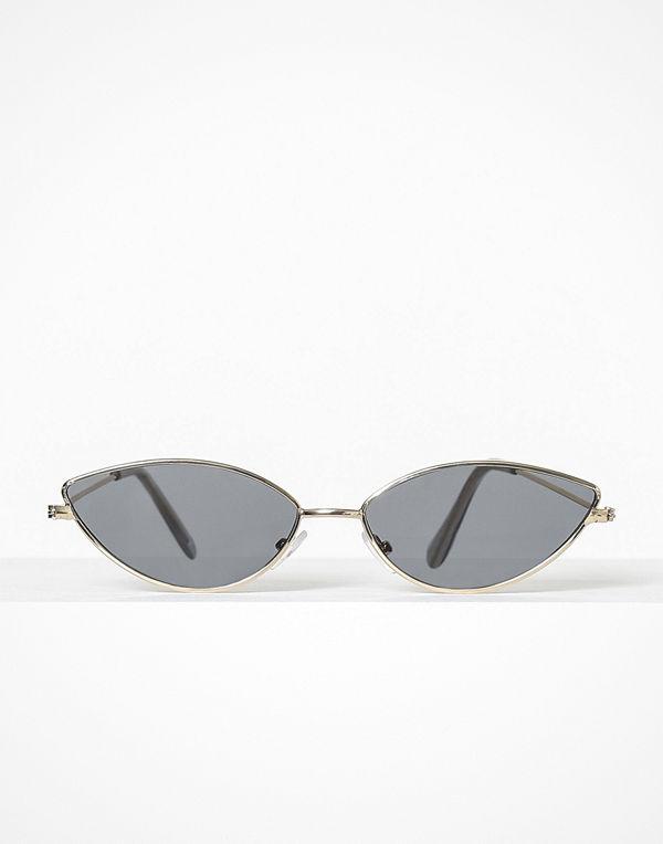 NLY Accessories Slim Retro Sunglasses Svart