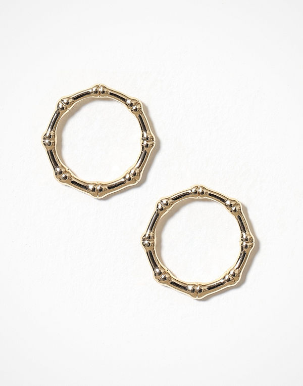 Freedom by Topshop örhängen Bamboo Wrap Studded Earring