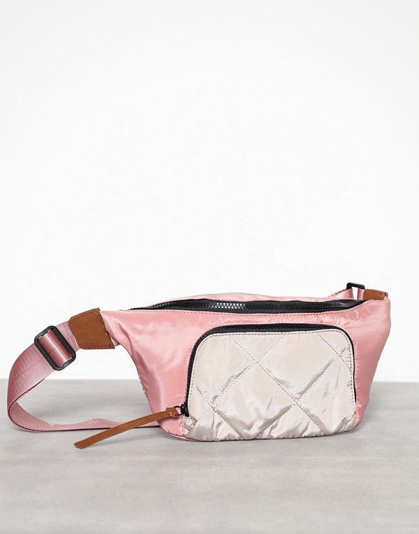 Pieces persikofärgad axelväska Pcsantino Bum Bag