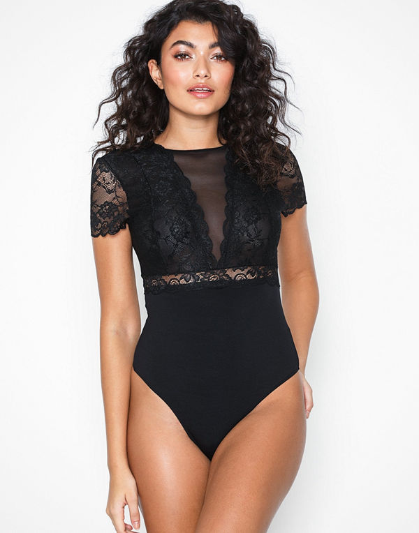 Pieces PCSICCA SS BODYSTOCKING NOOS