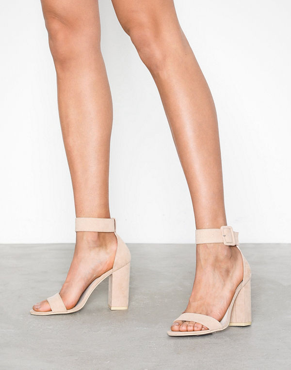 NLY Shoes Ankle Buckle Heel