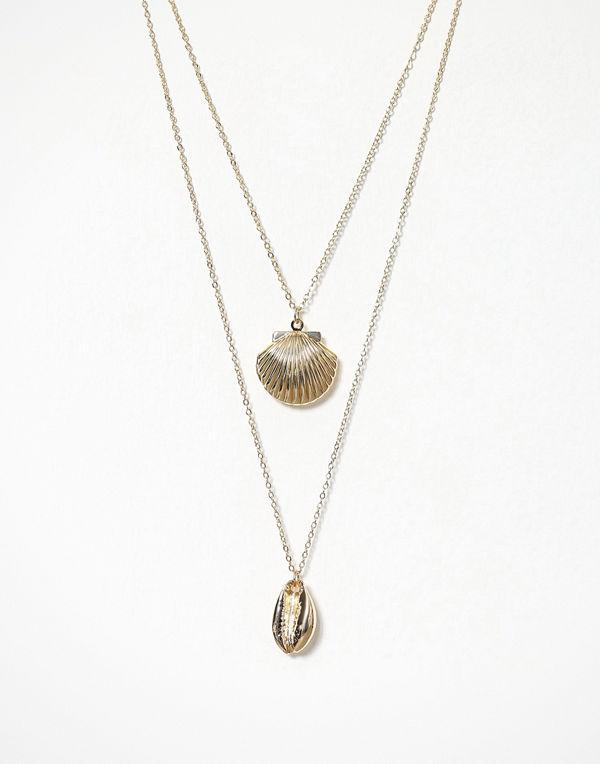 Pieces halsband Pcjean Combi Necklace D2D Key