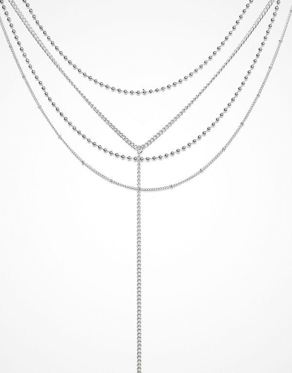Missguided Jewelry halsband Mega Multi Chocker