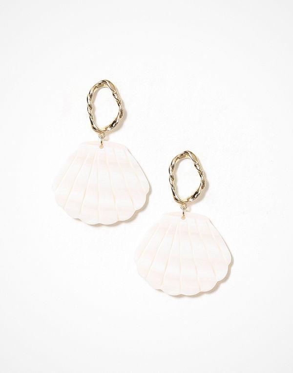 Freedom by Topshop örhängen Shell Drop Earrings