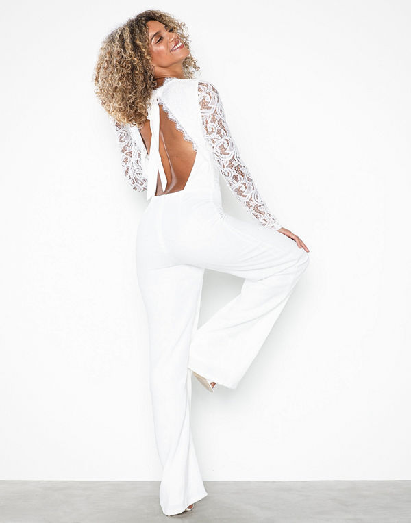 NLY Trend Sheer Lace Jumpsuit