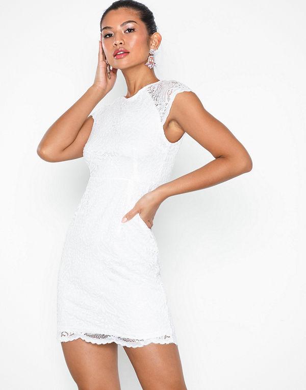 Only onlSHIRA Lace Dress Noos Wvn Vit