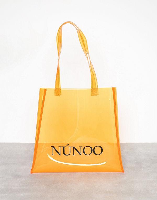 NuNoo Small Tote Transparent Orange