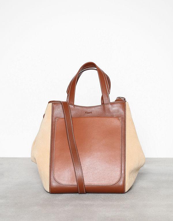 Filippa K Shelby Mini Bucket Mix Leather