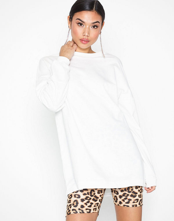 NLY Trend Through The Hood Sweat White