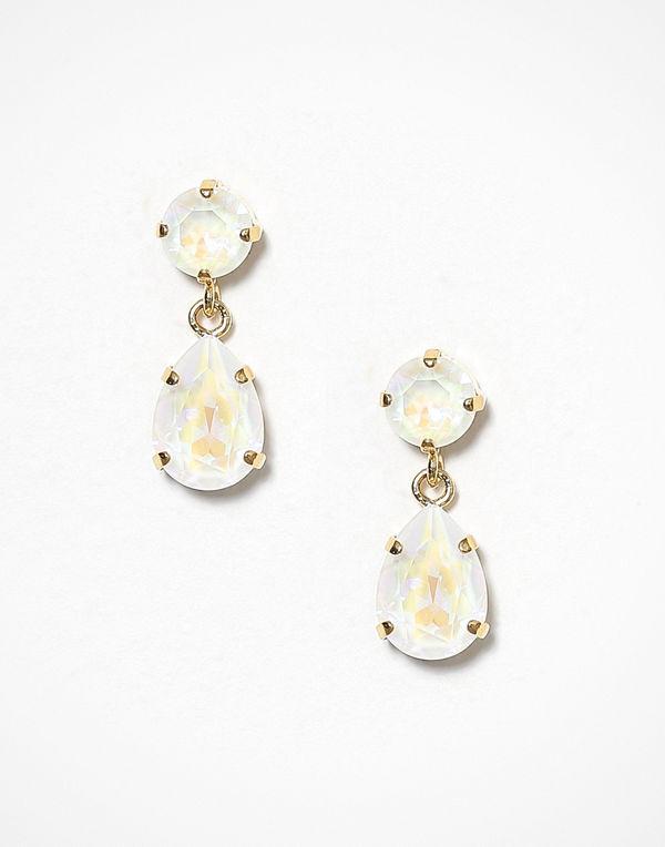 Caroline Svedbom örhängen Mini Drop Earrings Vit