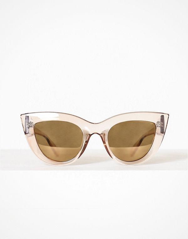 Pieces Pcdona Sunglasses Beige