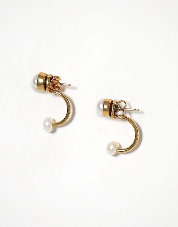 Cornelia Webb örhängen Pearled Half Hoop Earring s - Pair