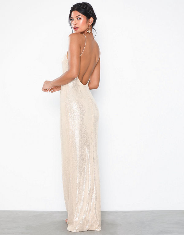 NLY Eve Goddess Sequin Gown